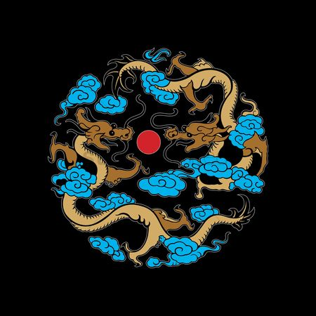 Traditional : Chinese dragon