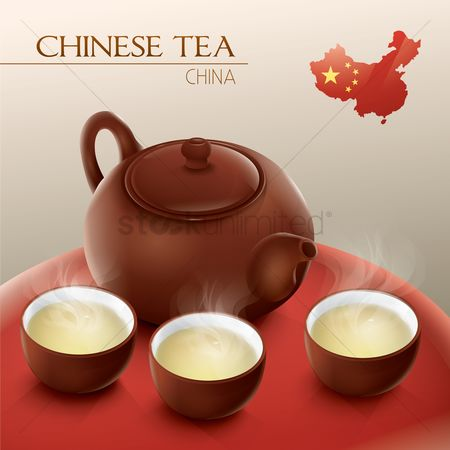Teapot : Chinese tea set