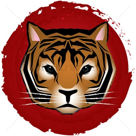 Horoscopes : Chinese zodiac tiger design