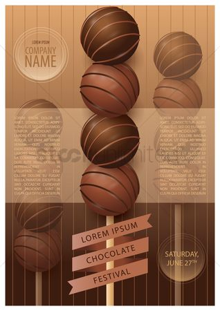 Chocolates : Chocolate festival poster