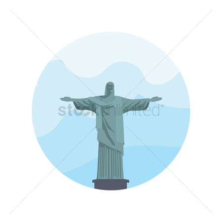 Statues : Christ the redeemer