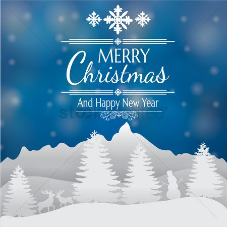 Festival : Christmas and new year greetings