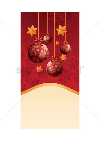 Bauble : Christmas banner