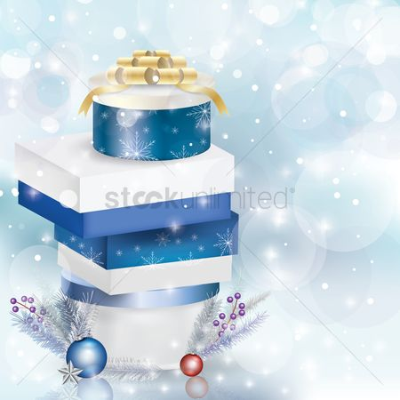 Presents : Christmas concept