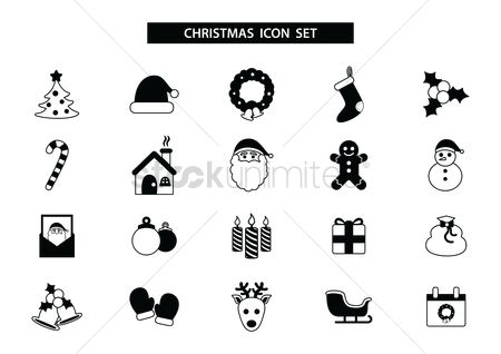 Confectionery : Christmas icons