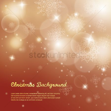 Shine : Christmas sparkle background design
