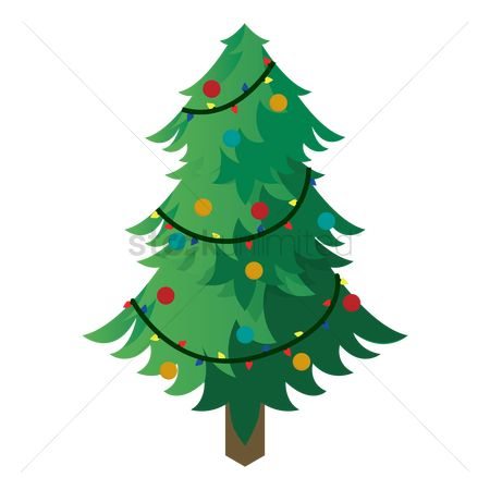 Lighting : Christmas tree