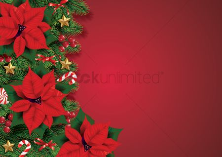 Popular : Christmas wreath with ornaments