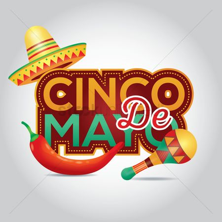 Festival : Cinco de mayo design