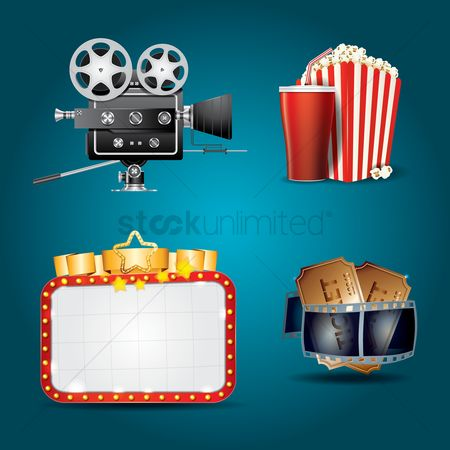 Vintage : Cinema theme collection