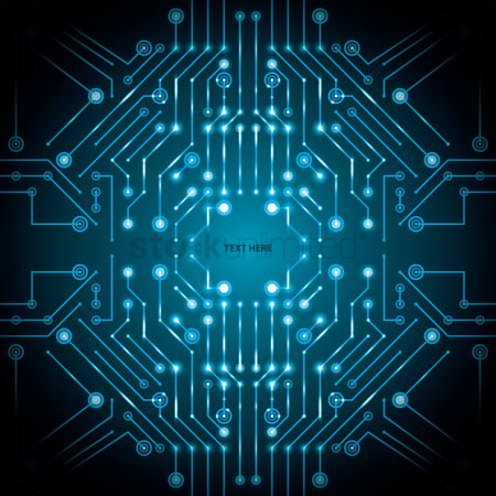 Graphic : Circuit board design