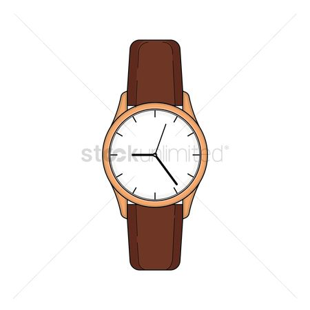 Minute : Classic wrist watch