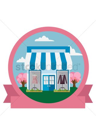 Market : Clothing shop