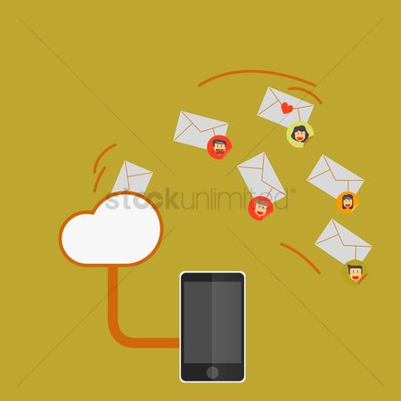 Interact : Cloud mailing