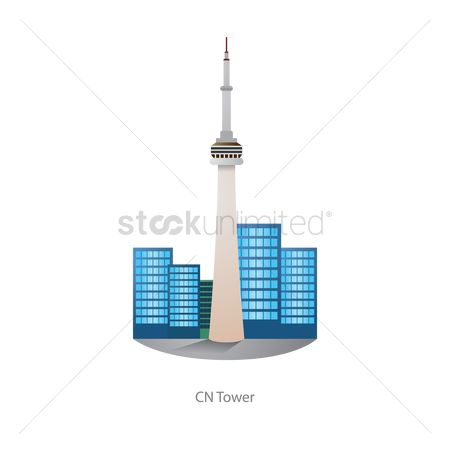 Skyscraper : Cn tower