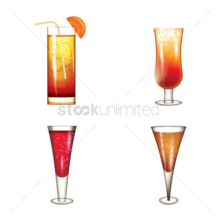 Strawberry : Cocktail icons