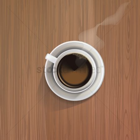 Steam : Coffee cup