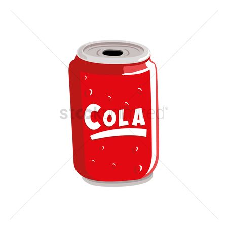 Soda drink : Cola can