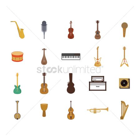 Drums : Collection musical instruments
