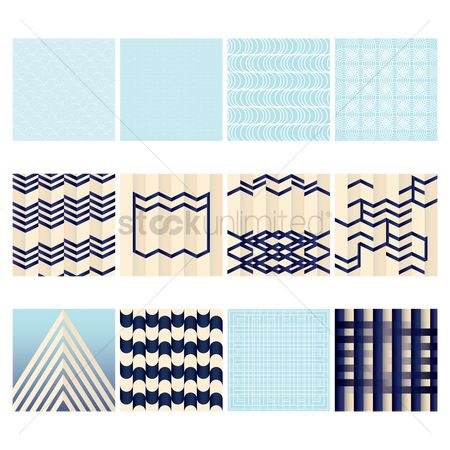 Geometrics : Collection of backgrounds