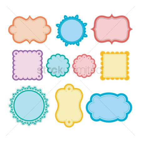 Free Blank Stickers Stock Vectors | StockUnlimited