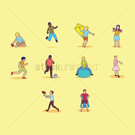 Dancing : Collection of children and activities