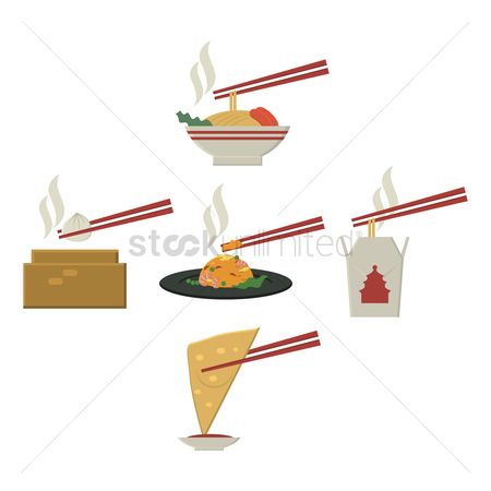 Main : Collection of chinese food