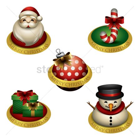 Greetings : Collection of christmas items