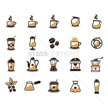Flavor : Collection of coffee related items