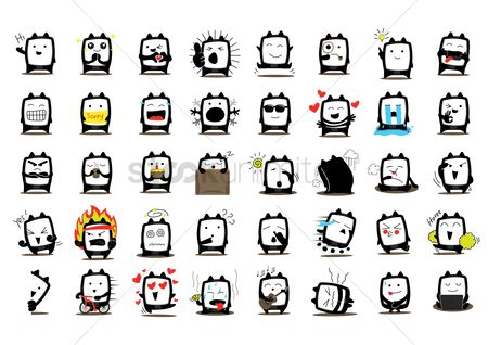 Character : Collection of cute characters