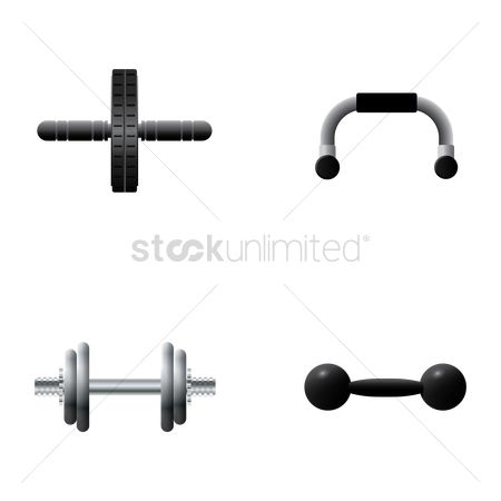 Strength exercise : Collection of exercise equipment