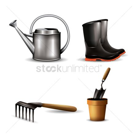 Flower pot : Collection of garden equipments