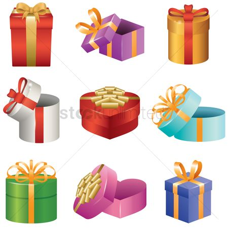 Celebrates : Collection of gift boxes