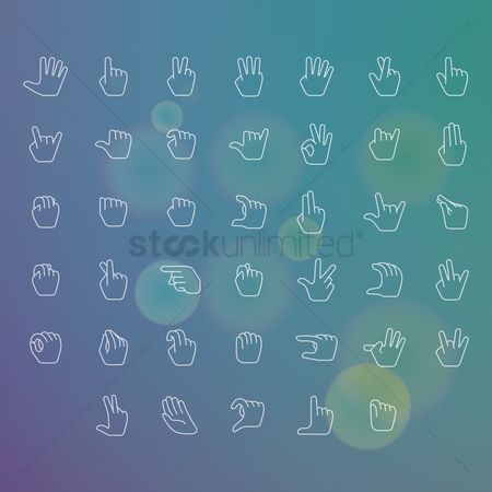 Language : Collection of hand gestures