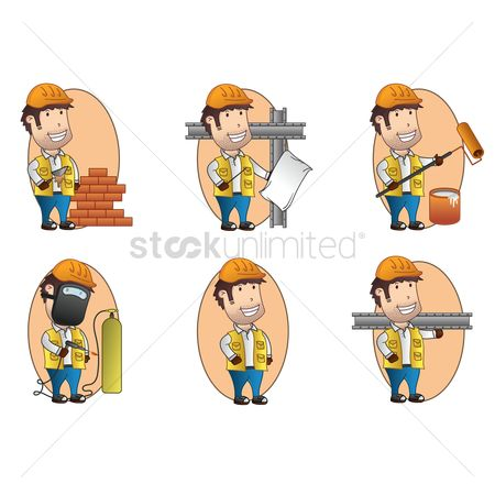 Workers : Collection of handymen