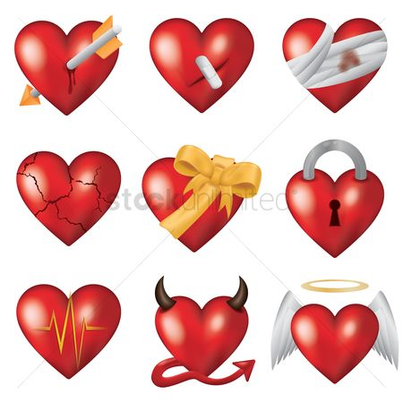 Romance : Collection of hearts