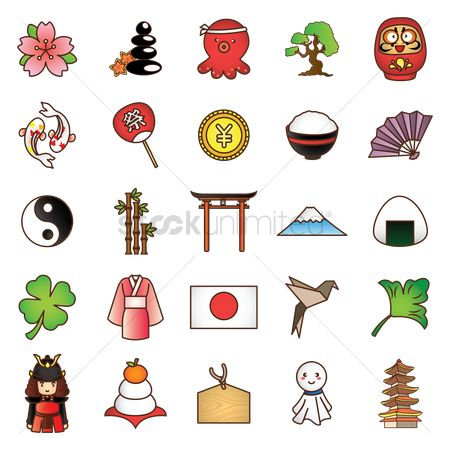 Zen : Collection of japanese icons