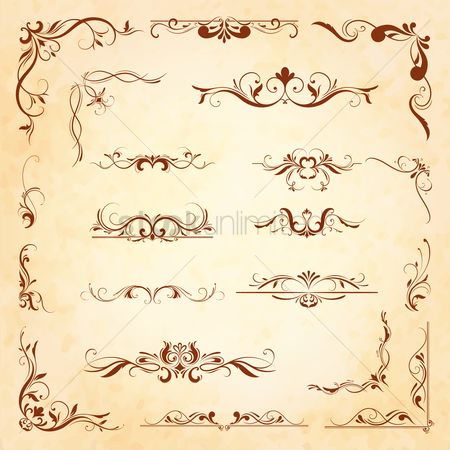 Classic : Collection of ornamental designs