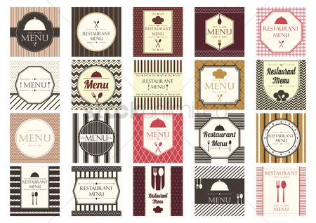 Chef : Collection of restaurant menu designs