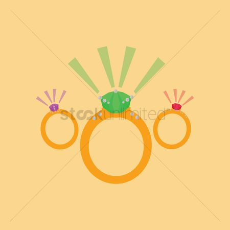Engagements : Collection of rings
