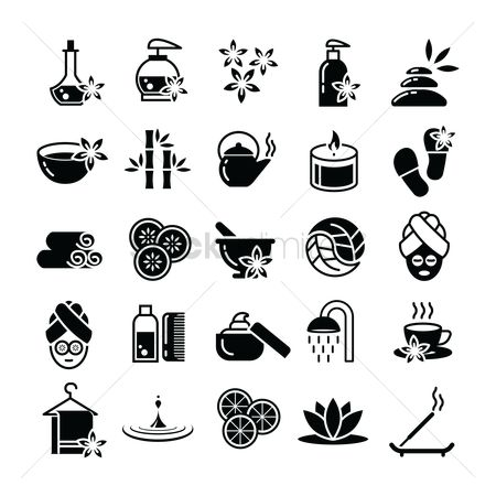 Jug : Collection of spa icons