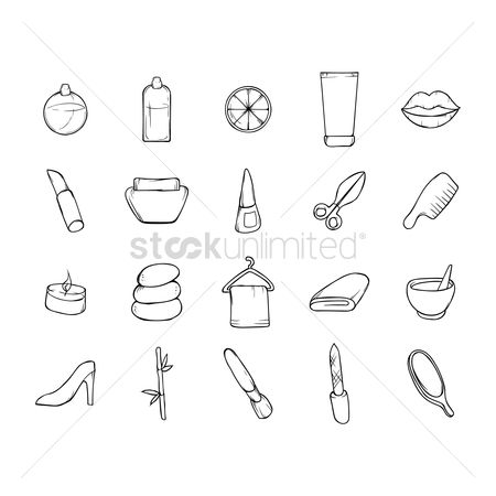 Cutters : Collection of spa items