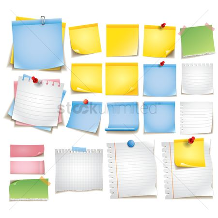 Supply : Collection of sticky notes