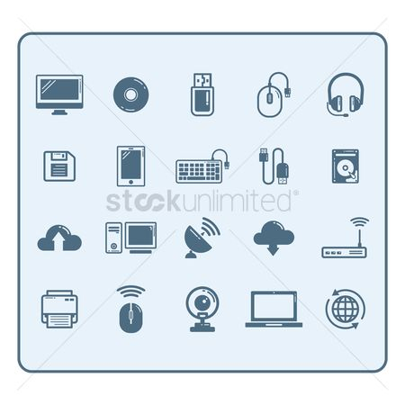 Uploads : Collection of technology devices