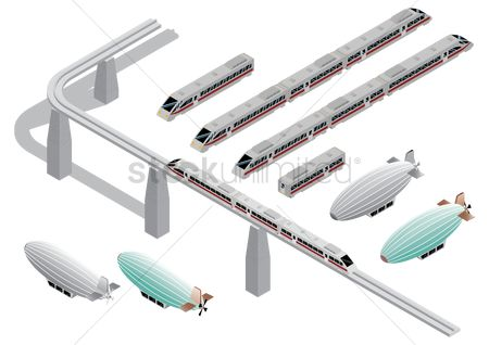 Rail : Collection of transportation