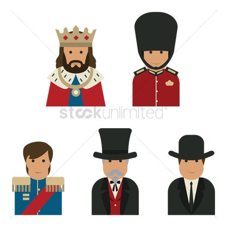 Royal : Collection of united kingdom people