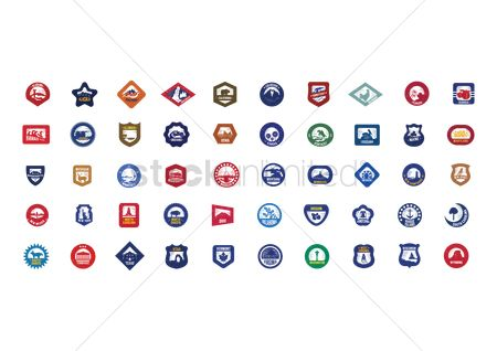 Shield : Collection of usa icons