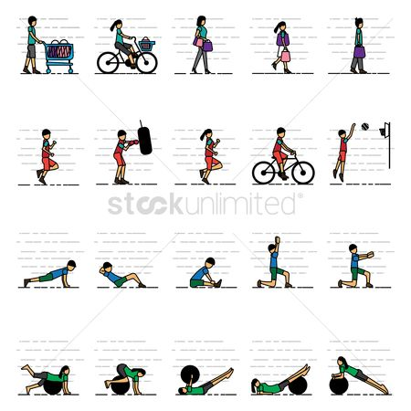 Sports : Collection of various activities