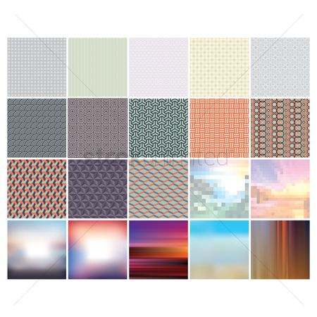 Geometrics : Collection of various background
