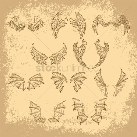 Claws : Collection of wing designs